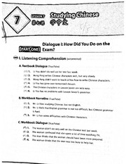 Lesson 7 workbook