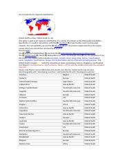 List of countries by regional classification.docx