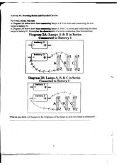 Electric Circuits Part 2 Lab Exercise