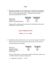 Chapter 10 Practice Problems