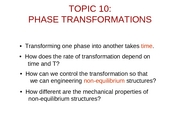 Topic10-PhaseTransformations