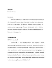 Information Technology Essay