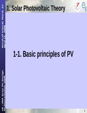 1-1Basic Principle of PV(Day1).ppt