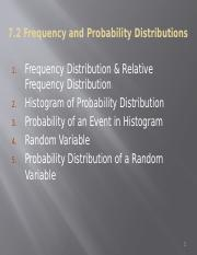 Section 7.2 Frequenct and probability distributions.pptx
