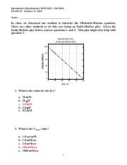 BCH_3023_Exam_2_2010_Answer_Key