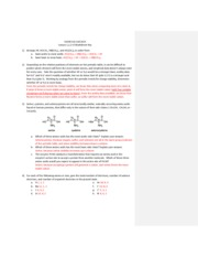 SI Lessons 1-3  Worksheet Key