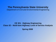 Class_32_Multi-Lane_Highway_Capacity_and