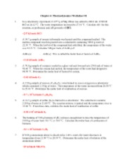 Printables Thermodynamics Worksheet Answers chapter 6 thermodynamics worksheet 2 worksheet