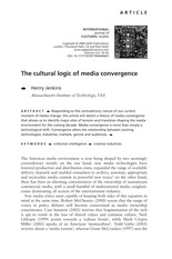 Jenkins-The Cultural Logic of Convergence