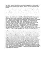 obasan essay