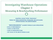Chapter 03 - Benchmarking