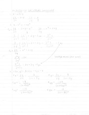 Partial Derivatives - 1
