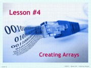 04-Creating_Arrays