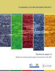 ACT Government - Review of environmental impact assessment in the ACT.pdf