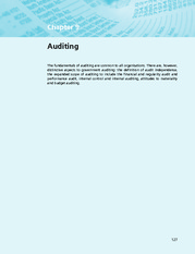 Chapter 9  Auditing