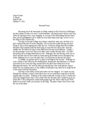 personal essay1