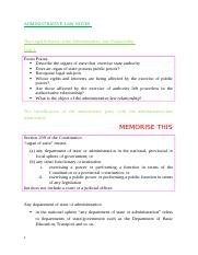Administrative Law Unit 3 Notes.docx