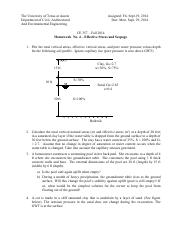 Homework 04 Stress and Seepage - FA2014 (1)