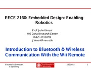 Introduction to Bluetooth Slides