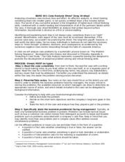 Case study analysis help yellowtail marine