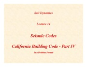 SD-Lecture14-Seismic-Codes-IV