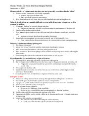 Viruses and Viroids Notes