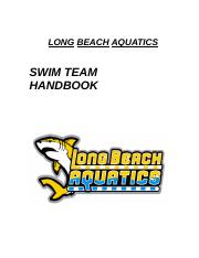 LONG BEACH AQUATICS HANDBOOK.doc