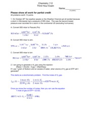 Exam 3 Solutions 2010