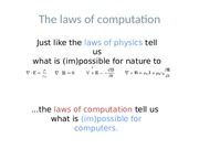 lect 2 - Laws of computation (2)