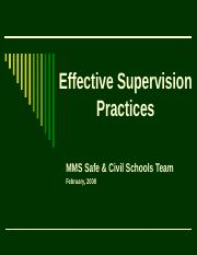 Effective Supervision Practices.ppt