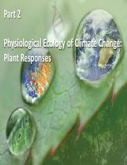 20) Plant Responses to climate change  - Thursday.pdf