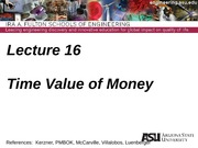 Lecture 16dm Time Value of Money(3)