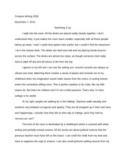 Switching it up essay