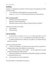 1 Internal &  External Auditing(1).docx