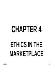 CHAPTER 4 (ETHICS IN THE MARKETPLACE).ppt