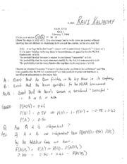 STAT 053-12 - Answers to Quiz 1
