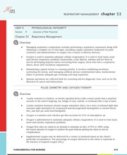 Chapter 53 - Respiratory Management