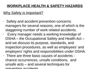 HRM 12 Workplace Health & Safety