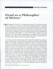 Freud as a Philosopher of History WK3 ARTICLE 4.pdf