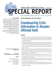 heinzelman__2010__crowdsourcing_crisis_information_in_disaster-affected_haiti