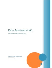 Data Assignment 1