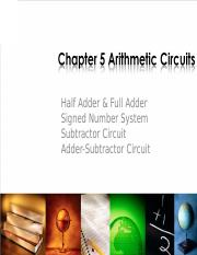Chapter 5Arithmetic Circuits