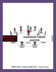 leadership theory paper