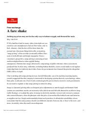 A fare shake _ The Economist