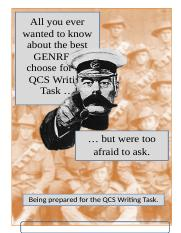 All you ever wanted to know about the best GENRE to choose for the QCS Writing Task - 2017abcd (1).d
