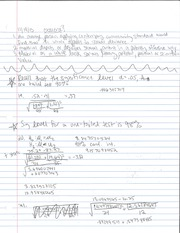 Standard Deviation Notes