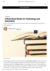 5 Must-Read Books on Technology and Innovation _ Inc