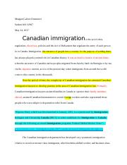 canada imigration policy