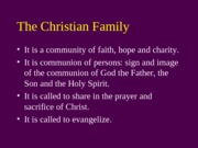 33-The Christian Family