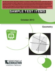 geometry-sample-test-items